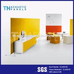 Diseño exclusivo piso acústica pantallas con material retardante de llama