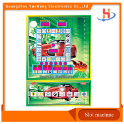 Voertuig Coin Pusher Coin Operated Casino Fruit King / Football Star / Metro Mario Slot Game Pcb Board Slot Machine