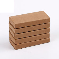 Kraft Paper Match Box benutzerdefinierter persönlicher Logo-Druck mit Langen Matches Sticks