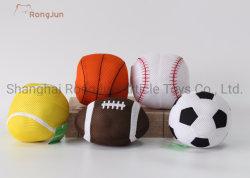 Rugby personalizzato popolare della sfera della peluche