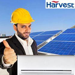 48V Airconditioners door Zonnepanelen worden aangedreven dat