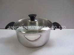 Ustensiles de cuisine en acier inoxydable, Stock Pot, Saucepot avec couvercle, ustensiles de cuisine, four hollandais