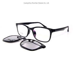 Новейшая модель пользовательских моду дизайн магнит закрепите очки от чтения магнитных Tr90 солнцезащитные очки с поляризованные линзы