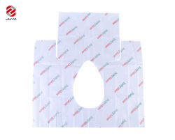 최신 판매 휴대용 Eco-Friendly 여행 방수 Anti-Slip 위생 위생 처분할 수 있는 변기 덮개