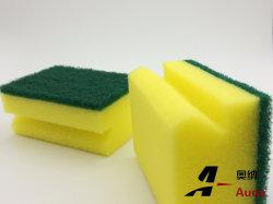 Maintenez éponge de nettoyage Pad pour usage de la cuisine d'une éponge de tampons à récurer