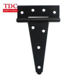 От 4 до 8 дюйма Америки реверсивные петли дверцы ограждения для тяжелого режима работы T черный петли петля тройника