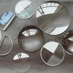 vetro ottico personalizzato 1.1mm K9 di vetro di silicone di vetro di quarzo di figura per il laboratorio