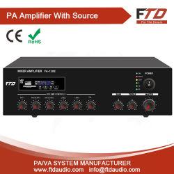 120W système de sonorisation Amplificateur mélangeur avec Echo