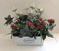 P9033-35 인공 꽃 홈 정원 Deco 화분에 심는 플랜트