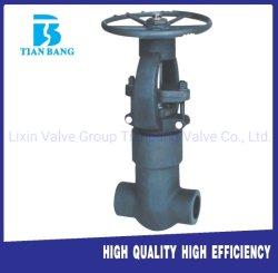 Fabricant de la pression d'étanchéité en acier forgé à haute température Vanne haute pression