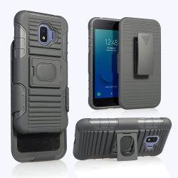 3 в 1 с креплением на ремень прочный чехол для тяжелого режима работы доспехи противоударная для телефона Samsung J2 Core крышки