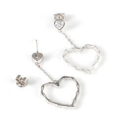 Мода украшения сердца, 925 серебряных украшений с серьги