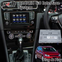 Android de navegación GPS de coche para el Volkswagen Golf vagón VW