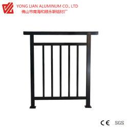 De Omheining van het Balkon van het aluminium/van het Aluminium/Vangrail/Traliewerk Ade door het Profiel van de Uitdrijving van het Aluminium