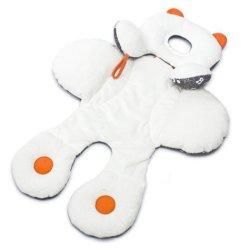دعم الرأس والجسم لمقعد السيارة جوجرز تجعد وسادة النوم للأطفال