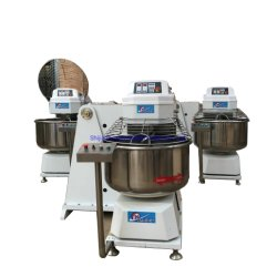 Spiraalvormige Mixer van de Kom van de Apparatuur van de keuken de Verwijderbare voor de Machine van het Voedsel
