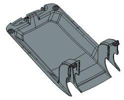 注入の鋳造物が付いている自動粒状の部品のプラスチック製品
