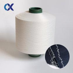 Acy couverts de filés spandex couverts avec du polyester Spandex couvrant les fils de chaussette de l'air