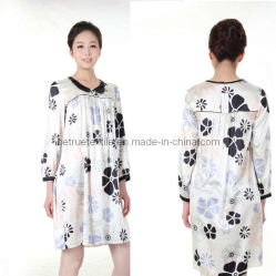 Classic Silk Charmeuse Night Robe / Nightgown