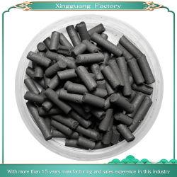 En columnas de carbón el carbón activado a partir de la purificación del aire