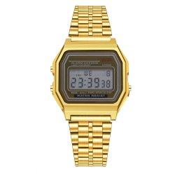 Tendência 2020 Rose Gold Digital populares relógio de pulso