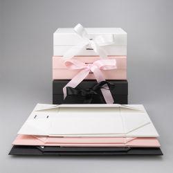 맞춤형 럭셔리 골드 다양한 유형 종이 선물 상자 포장