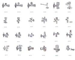Gama completa de suministro de agua de cocina y baño de agua/parada de la válvula de servicio/ Las válvulas de ángulo de latón
