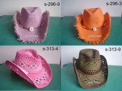 Corde tordue de papier ou de chapeau de cowboy Paperstraw