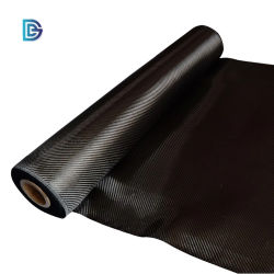 China Factory Toray 1K 3K 6K 12K Carbon Fiber Tuch 100G 120g 160g 180g 200g 240g 280g 320g 400g 500g 600g Twill Plain Weave Stoff Stoffrolle