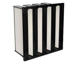 Compacte Filter voor Oppervlaktebehandeling, de Zuiveringsinstallatie van de Lucht, het Elektronische Cleanroom, van het Laboratorium en van het Gas Systeem van de Turbine