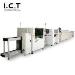완전 자동 조립 라인 LED 전구 조명 생산 AI 합계 솔루션 TV 소형 SMT 유연한 LED 생산 라인 기계