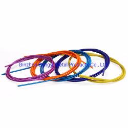 Multi Farben-dehnbare Stärke Belüftung-überzogenes Stahldrahtseil