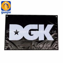 Groothandel Outdoor Custom Flex Vinyl/PVC/Polyester Sublimation Digital Printing National Land American Car Beach Flying hand vlag Reclame Banners