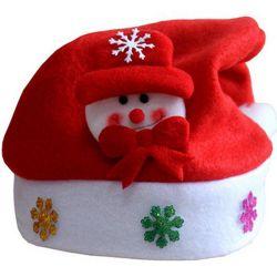 De Dekking van de Stoel van de Hoed van de Kerstman van Kerstmis zit Rugdekking voor de Feestelijke Decoratie van de Partij van de Vakantie van het Banket van de Lijst van de Partij voor de Hoed van Kerstmis van het Decor van de Stoel voor