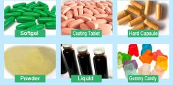 OEM de etiqueta privada cápsula dura /Tablet suplemento dietético