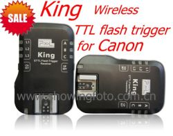 Pixel Rei Gatilho flash TTL sem fio para a Canon