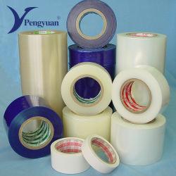 De afgedrukte LDPE Beschermende Film van de Deuren en van de Vensters van het Aluminium van de Film Zelfklevende Beschermende