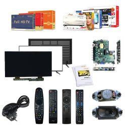Amaz Factory Price 60 بوصة LED تلفزيون SKD/CKD درجة A+ شاشة LED أصلية بحجم كبير مزودة بشاشة مسطحة