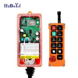 F23-A+E industriële draadloze afstandsbediening met zender- en ontvangerschakelaar