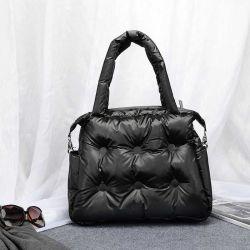 2021 حقيبة اليد الجديدة مصمم بالات الفضاء حقائب المرأة العادية لأسفل ريشة [بسد] سيدة كتف حقيبة [بولسس] نساء [برس] وحقيبة يد