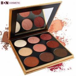 Make Up High Pigment Private Label 9 kleuren Palette Eyeshadow