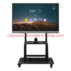 DS TECH DV18 85 インチインタラクティブホワイトボードタッチスクリーン(搭載) ワイヤレスプロジェクタドングル