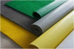 Rouleaux de tapis en PVC, PVC, PVC, PVC, revêtement de sol tapis de la bobine, tapis en PVC (3A5011)