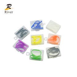 Occhiali con cordoncino in silicone antiscivolo Set di supporti per punte per templi orecchio colorato Gancio per occhiali gancio per orecchie in silicone