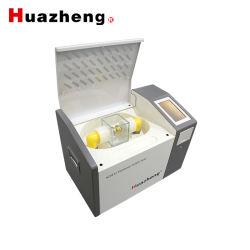 中国の製造者(0-80KV)の自動変圧器オイルの誘電性の強度テストの携帯用絶縁オイルの絶縁破壊電圧のBdvのテスターの価格