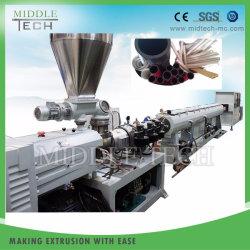 플라스틱 PVC/UPVC 하수구 또는 물 공급 관 또는 관 또는 기계장치를 만드는 호스 밀어남 또는 압출기