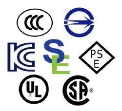 Certificazione prodotto dell'approvazione del tipo di conformità per l'accesso al mercato globale