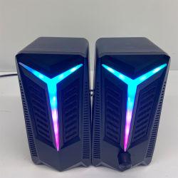 Coloridos de la luz de alta potencia Rbg equipo 2.0 Juego de PC Speaker