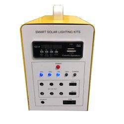 휴대용 태양열 조명 시스템 가정용 키트, 라디오/MP3/Bluetooth 포함 12V