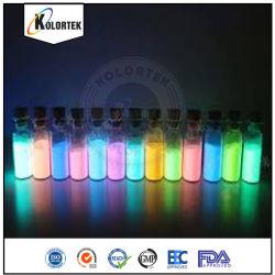 Phosphoreszierendes glühendes Lack-Pigment-Puder